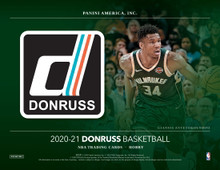 2020/21 Panini Donruss Basketball Hobby 10 Box Case