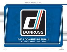 2021 Panini Donruss Baseball Hobby 16 Box Case