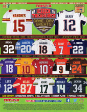 2021 Tristar Hidden Treasures Game Day Greats Autographed Football Jersey Box