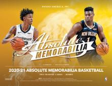 2020/21 Panini Absolute Memorabilia Basketball Hobby 10 Box Case