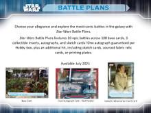 2021 Topps Star Wars Battle Plans Hobby 12 Box Case