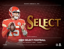 2020 Panini Select Football Hobby 12 Box Case