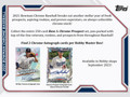 2021 Bowman Chrome Baseball Hobby Box
