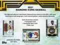 2021 Topps Diamond Icons Baseball Hobby 4 Box Case