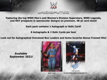 2021 Topps WWE Undisputed Wrestling Hobby Box