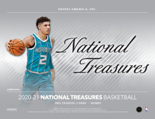 2020/21 Panini National Treasures Basketball Hobby Box