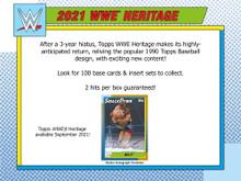 2021 Topps WWE Heritage Wrestling Hobby Box