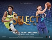 2020/21 Panini Select Basketball Hobby 12 Box Case