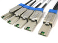 Mini SAS to 4 Mini SAS Breakout Cable