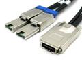 SAS to 2 External Mini SAS 1 Meter Y Cable