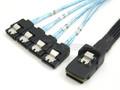 Internal Mini SAS to 4 SATA Cable
