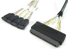 4 SATA to 32-Pin SAS 0.5 Meter Cable