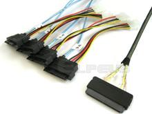 32-Pin SAS to 4 29-Pin SAS 0.5 Meter Cable