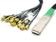 QSFP to 16 SMA 1 Meter Cable