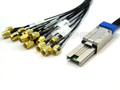 External Mini SAS to 16 SMA 1 Meter Cable