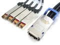 CX4 to 4 SFP 0.5 Meter Breakout Cable