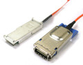 20M Active Optical QSFP+ to CX4 InfiniBand Cable