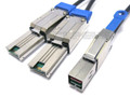 Mini SAS HD to 2 Mini SAS 4 Meter Y Cable