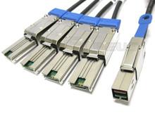 Mini SAS HD to 4 Mini SAS 4 Meter Breakout Cable