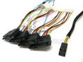 Internal Mini SAS HD to 4 29-Pin SAS 0.5 Meter Cable
