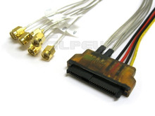 29-Pin SAS to (8) SMA RF 1 Meter Coax Cable