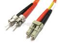 LC to ST Duplex Multimode (LSZH) 62.5/125 Fiber Patch Cable