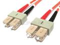 SC/SC Duplex Multimode (LSZH) 62.5/125 Fiber Patch Cable