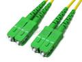 SC-APC/SC-APC Duplex Single-mode 9/125 Fiber Patch Cable