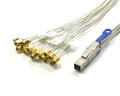 Mini SAS HD to 16 SMA 0.3 Meter Cable