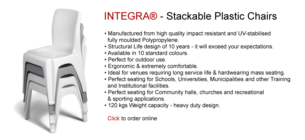 INTEGRA® - Stackable Plastic Chairs