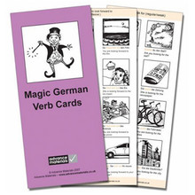 Cambridge International Magic German Verb Cards Flashcards - ISBN 9780954769543