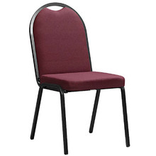 AMY Economy Upholstered BANQUET CHAIR with Full Back