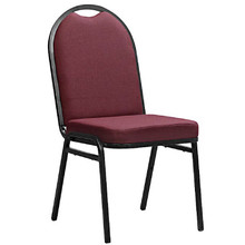 AMY Upholstered Banquet Chair with Full Back and Heavy Duty Frame