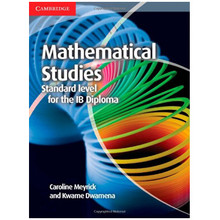 Cambridge Mathematical Studies for the IB Diploma: Mathematical Studies - ISBN 9781107691407