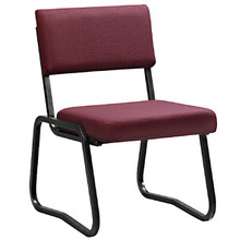 The ECONOMY Mid-Back Side Chair with Skid Base