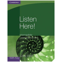 Cambridge International Listen Here! Intermediate Listening Activities Book with Key - ISBN 9780521140362