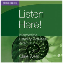 Cambridge International Listen Here! Intermediate Listening Activities Audio CD - ISBN 9780521140423