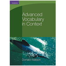 Cambridge International Advanced Vocabulary in Context - ISBN 9780521140409