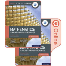 IB Diploma Programme: IB Mathematics: Analysis and Approaches, Standard Level, Print and Enhanced Online Course Book Pack - ISBN 9780198427100