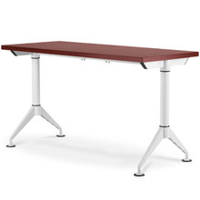 EASY Training Table (Narrow T-leg) with 32mm Fixed Top on Glides (Imported Components)