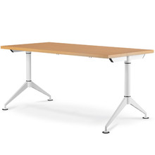EASY Training Table (Wide T-leg) with 32mm Fixed Top on Glides (Imported Components)