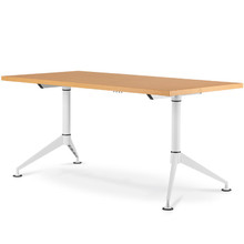 EASY Training Table (Wide V-leg) with 32mm Fixed Top on Glides (Imported Components)