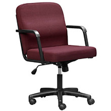 The ECONOMY Full-Back Arm Chair with Swivel/Tilt Mechanism an Castor Base