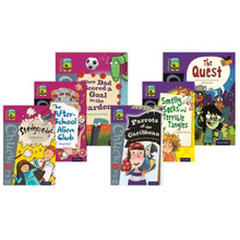 Oxford Reading Tree TreeTops Chucklers Level 10/11 Mixed Pack of 6 - ISBN 9780198391814