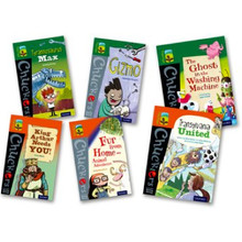 Oxford Reading Tree TreeTops Chucklers Level 12/13 Mixed Pack of 6 - ISBN 9780198376224