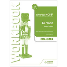 Cambridge IGCSE German Grammar Workbook Second Edition - ISBN 9781510448056