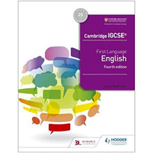 Hodder Cambridge IGCSE First Language English 4th Edition - ISBN 9781510421318