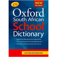 Oxford South African School Dictionary 4th Edition (Hardcover) - ISBN 9780190732363