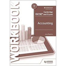 Hodder Cambridge IGCSE and O Level Accounting Workbook - ISBN 9781510421226