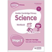 Hodder Cambridge Primary Science Workbook 2 - ISBN 9781471883880